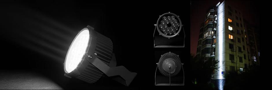 18颗CREE 2.8度超小角度LED投光灯