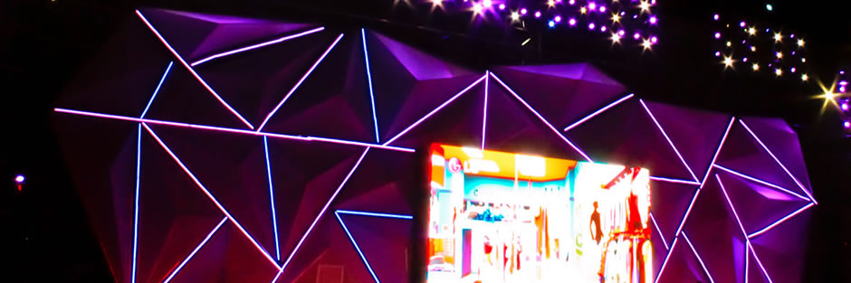 LED线条灯舞台装饰应用